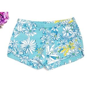LILLY PULIZTER Daisy Dance Allover Adie Shorts 0